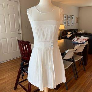 Bebe pleated mini dress sz 0